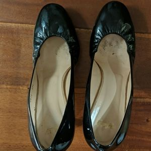 Bally Black Patent Heels